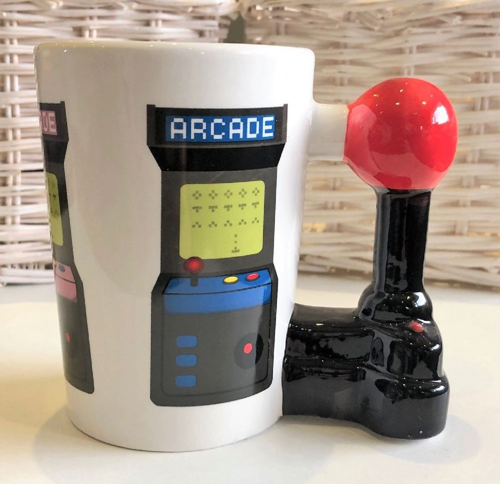 Gaming Mug with Joystick Games Control Handle